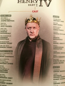 Jasper Britton as Henry IV