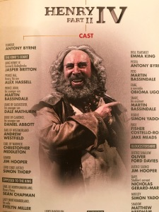 Sir Antony Sher as Falstaff