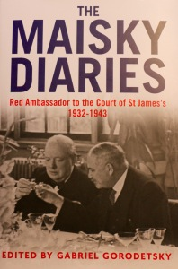 The Maisky Diaries describe the fluctuations in personal and national relationships surrounding WWII