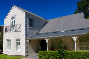 Our lovely rental home in the centre of Franschhoek