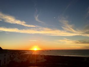 Sunset over Paternoster, Western Cape