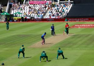 England losing the final ODI at Cape Town after being 2-0 up in the series