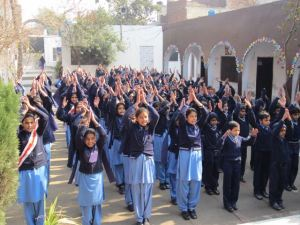 School children in Pakistan - victims of terror in their homeland