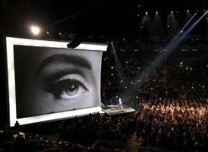 The fabulous Adele concert at the O2