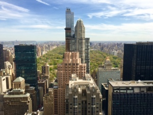 View over Central Park from the Boardroom of New Mountain Capital