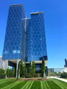 CSC's new office block in Tysons Corner, Virginia