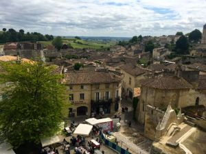 The lovely village of St. Emilion - with its equally lovely wines