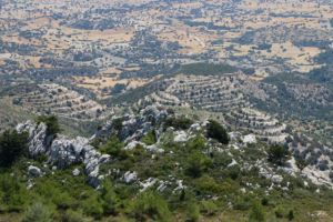 Dramatic scenery in Northern Cyprus