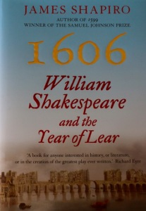 James Shapiro's fine book about one of Shakespeare's finest years.