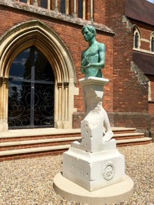 The new War Memorial unveiled at Cranleigh School on the centenary of the Battle of the Somme - it recognises some 340 members of the school who have fallen in conflicts since WWI - as many as died in one bomb blast in Baghdad this month.