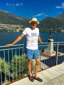 Enjoying some last rest and relaxation in Brienno, Lake Como